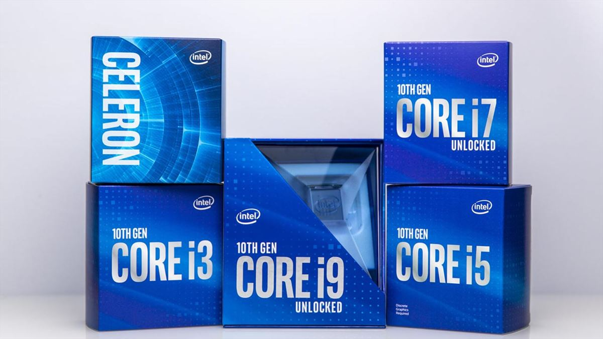 Intel Core 10a gen Comet Lake-S, socket LGA 1200