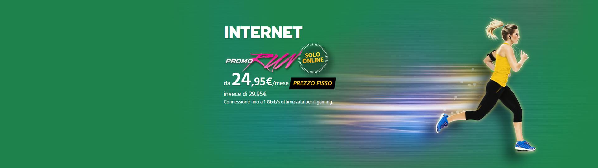 Internet promo RUN
