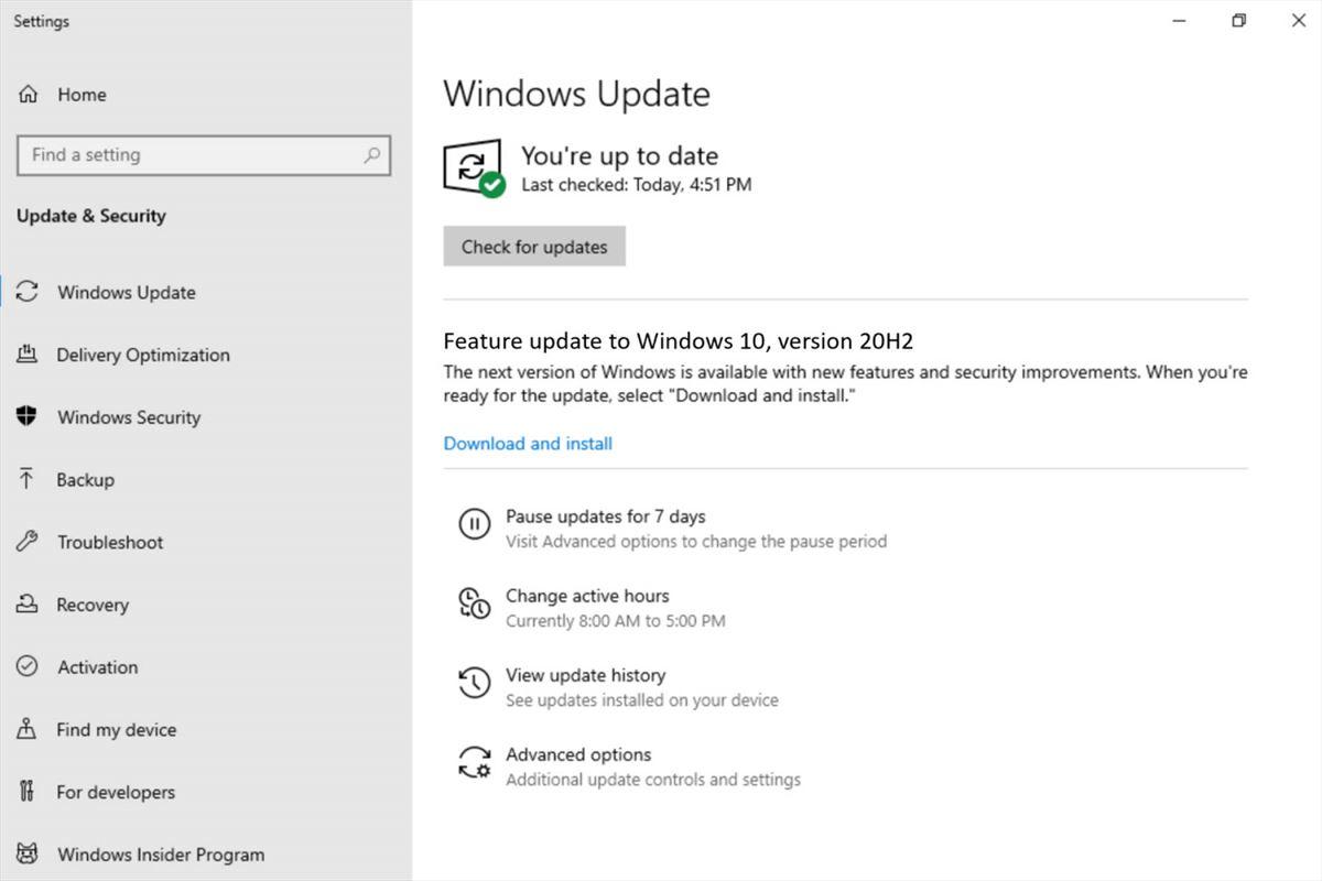 Windows 10, l'aggiornamento 20H2 cambierà il browser predefinito