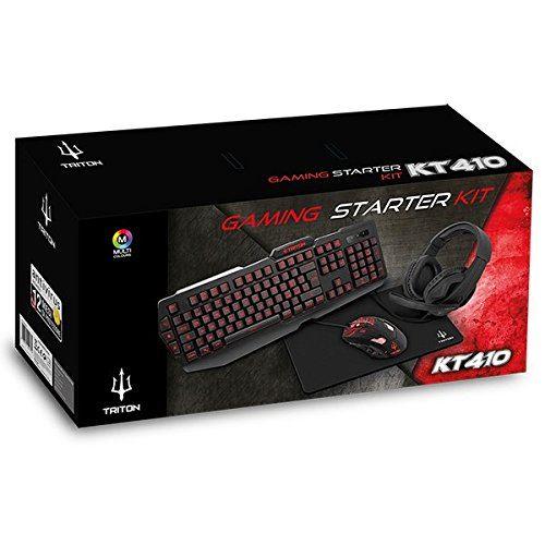 Starter Kit Gaming Triton by Atlantis KT410